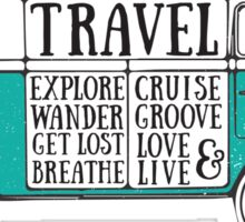 TRAVEL VAN Sticker
