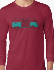 TRAVEL VAN Long Sleeve T-Shirt
