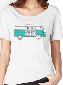 TRAVEL VAN Women's Relaxed Fit T-Shirt