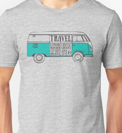 TRAVEL VAN Unisex T-Shirt