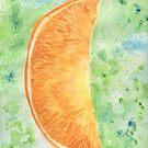 Orange slice by Avé Rivera