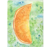 Orange slice Photographic Print