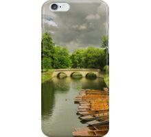 Cambridge Canoes iPhone Case/Skin