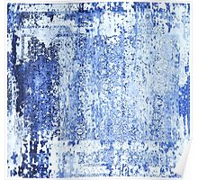 Distressed Blue Jeans Poster
