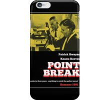 Point Break - 70s Grindhouse style iPhone Case/Skin