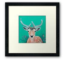 Reindeer for Christmas Framed Print