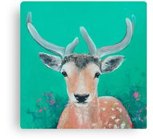 Reindeer for Christmas Canvas Print