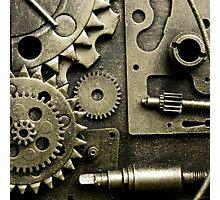 Steampunk Design Photographic Print