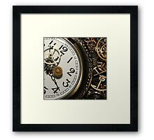 Steampunk Clocks Framed Print