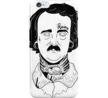 """Edgar Allan """"Hardcore"""" Poe iPhone Case/Skin"""