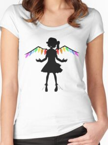 Bad Apple - Touhou T-shirt  Women's Fitted Scoop T-Shirt