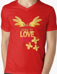 Quotes and quips - LOVE ME!! Mens V-Neck T-Shirt