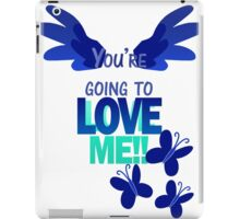 Quotes and quips - LOVE ME!! - inverted iPad Case/Skin