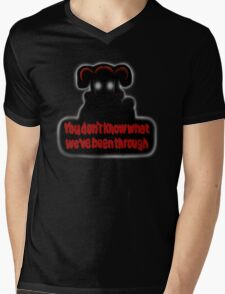 FNAF Sister Location Baby You don't know what we've been through Mens V-Neck T-Shirt