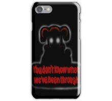 FNAF Sister Location Baby You don't know what we've been through iPhone Case/Skin