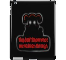 FNAF Sister Location Baby You don't know what we've been through iPad Case/Skin