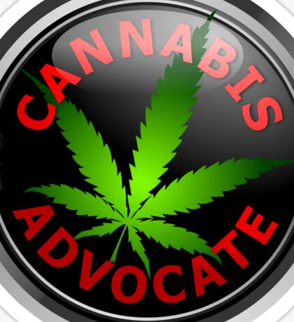 Cannabis Advocate - End The War on Drugs Sticker