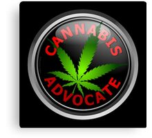 Cannabis Advocate - End The War on Drugs Canvas Print