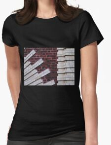 Arch Bridge Detail Womens Fitted T-Shirt