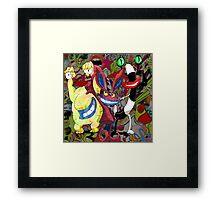 The Realest Monsters Framed Print