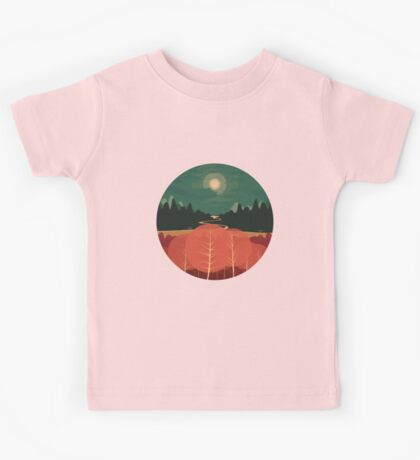 Midday Mountains Kids Tee
