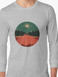 Midday Mountains Long Sleeve T-Shirt