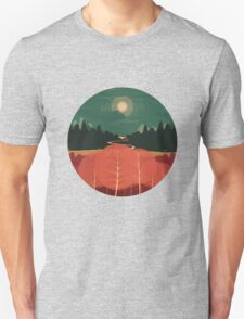 Midday Mountains Unisex T-Shirt