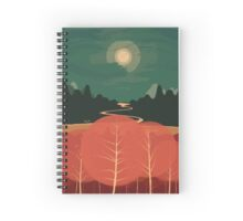 Midday Mountains Spiral Notebook