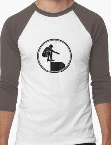 Mens Crossfit Men's Baseball ¾ T-Shirt