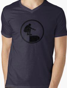 Mens Crossfit Mens V-Neck T-Shirt