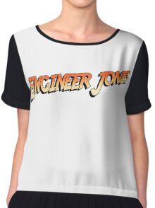 Engineer Jones Chiffon Top