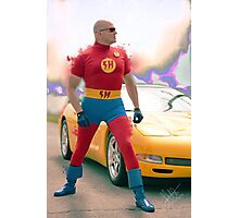 super hero Photographic Print