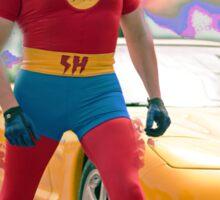 super hero Sticker