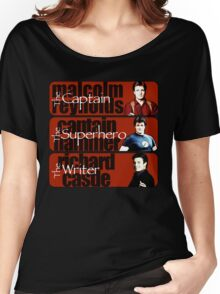 The Captain, The Superhero, and The Writer Women's Relaxed Fit T-Shirt