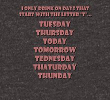 Drinking Days (Red) Unisex T-Shirt