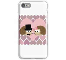 Hedgehogs and Hearts iPhone Case/Skin
