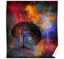 Lonely Tree in dreamland Poster