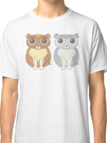 Two Fluffy Dogs Classic T-Shirt