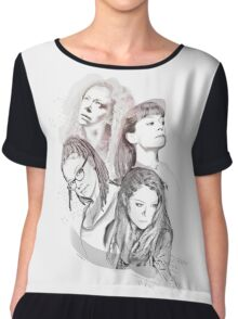 Orphan Black Chiffon Top