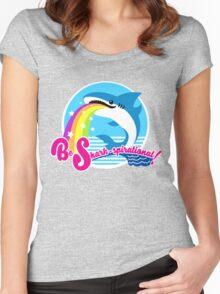 Be Shark-spirational! Women's Fitted Scoop T-Shirt