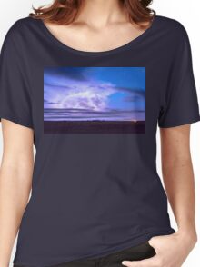 On The Edge Of A Storm Women's Relaxed Fit T-Shirt