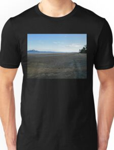 Mission Beach with Crab Balls and Dunk Island  Unisex T-Shirt