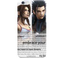 LOVELESS. Crisis Core.  iPhone Case/Skin