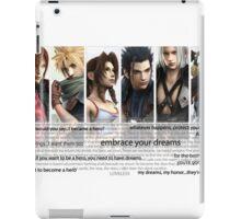 LOVELESS. Crisis Core.  iPad Case/Skin