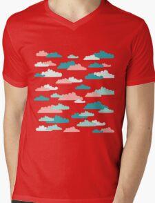 Cloudy Sky Mens V-Neck T-Shirt