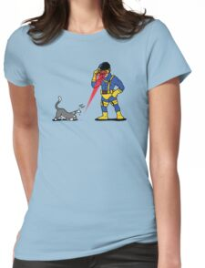 Lasers and cats Womens Fitted T-Shirt