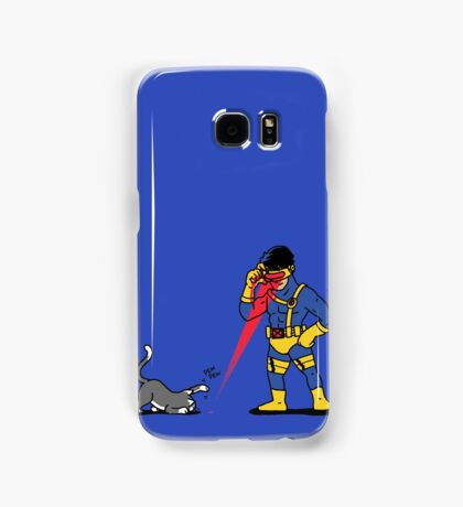 Lasers and cats Samsung Galaxy Case/Skin