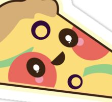 Kawaii Anime Manga Pizza Sticker