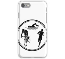 Mens Triathlon iPhone Case/Skin