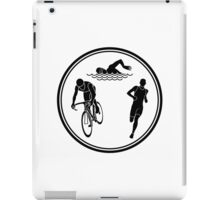 Mens Triathlon iPad Case/Skin